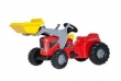630059 Rolly Toys RollyKiddy Futura Traptractor + Lader
