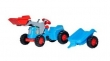 630042 Rolly Toys RollyKiddy Classic Traptractor + Lader + Aanhangwagen