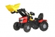 611163 Rolly Toys RollyFarmTrac MF8650 Traptractor met Lader