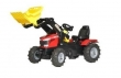 611140 Rolly Toys RollyFarmTrac MF8650 Traptractor op luchtbanden met Lader